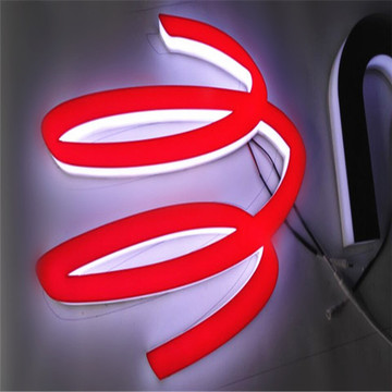 Custom LED Illuminated Plexiglass Sign