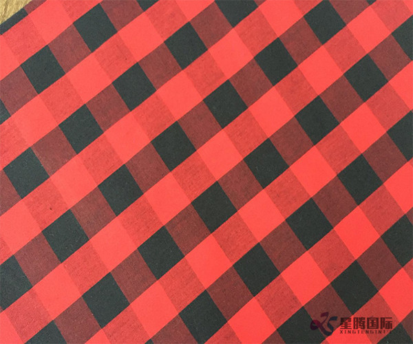 Classic Red Mix Cotton Fabric