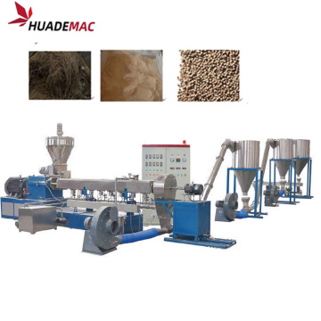 plastic and wood composite granulating line