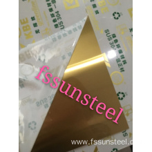 304 color sheets NO.4 GOLD Anti finger print