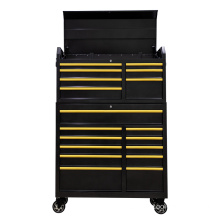 Golden Tool Chest and Roller Cabinet Combo