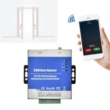 RTU5025 Wireless Remote GSM/GPRS/3G Gate Opener Operator Garage Door Access Controller USB Communication Port 100-240V