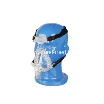 Certificate Silicone CPAP Full Face Mask With Headgear