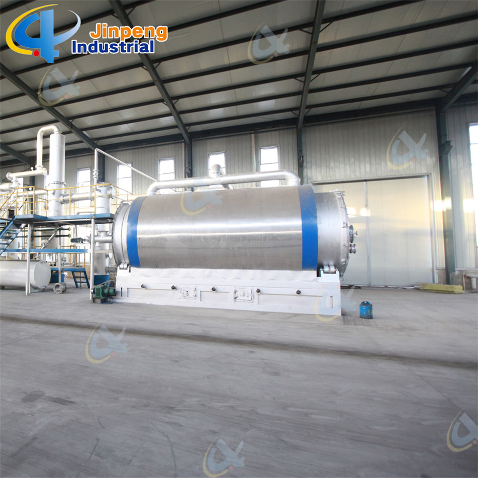 tire stripping pyrolysis machine