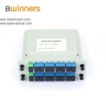 2X16 Insertion Module 2x16 PLC Splitter Coupler