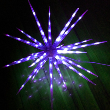 Iron Decoration LED Firework Lights