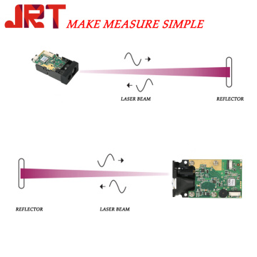 Phase laser distance measure sensor module