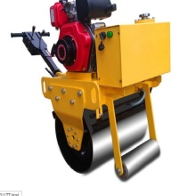 Single steel wheel small roller