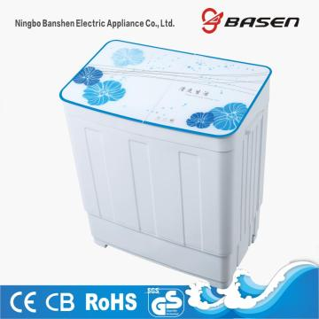 Glass Cover Twin Tub 6KG Washer With Dryer