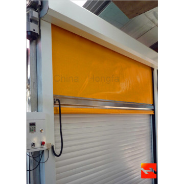 Automatic PVC Fabric Roller Shutter Door