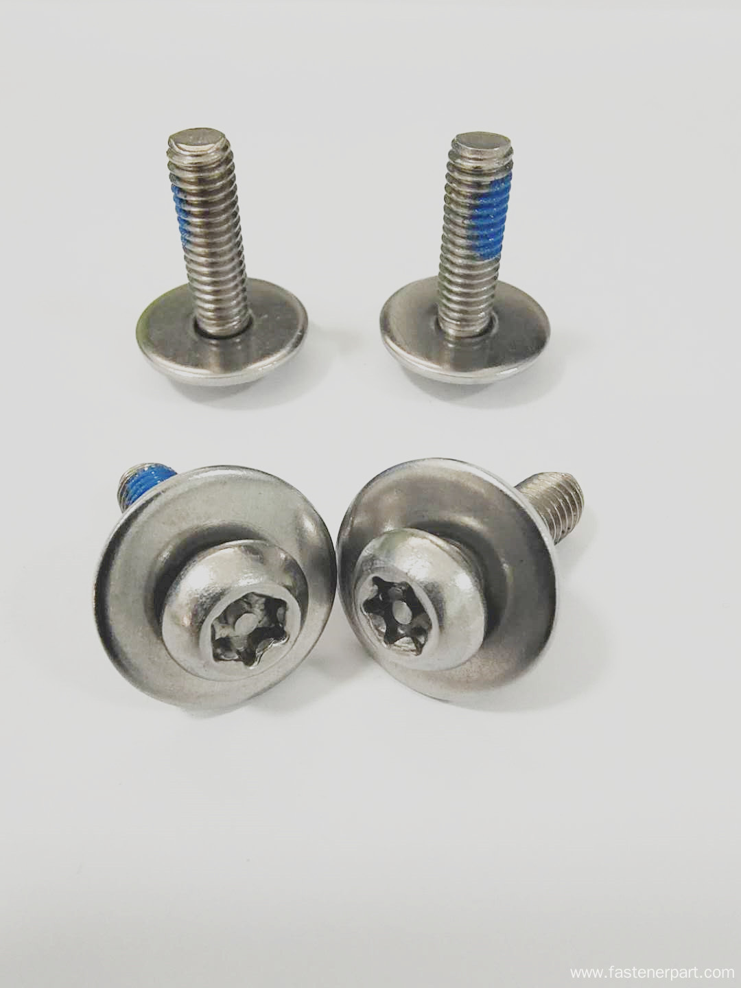 Round Head Anti Loosening Combination Screws For Sale