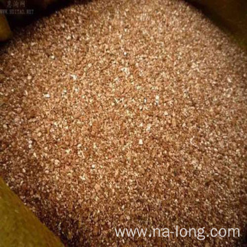 Expanded Vermiculite in Concrete or Mortar