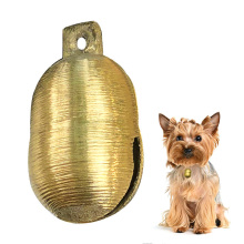 Horse Sheep Equipment Durable Copper Bell Grazing Sound Loud Decorations Cow Anti Lost Husbandry Tool Livestock Animal Farm Dog