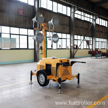4x400w Gasoline or Diesel Lighting Towers for Sale