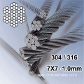 7x7 Dia.1.0mm Stainless Steel Cable