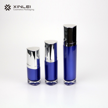 triangle shape fancy acrylic serum bottles