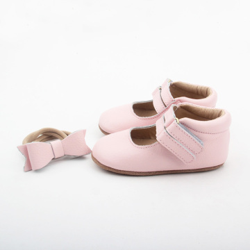 Pink Elegant Baby Girls Dress Shoes