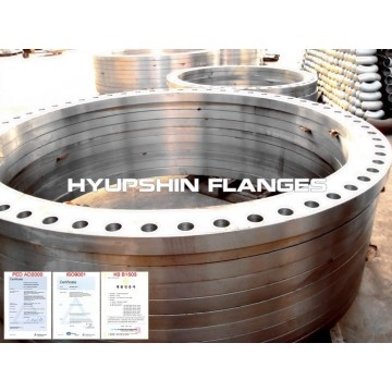 Plate Flat Face BS4504 Carbon Steel  Flange