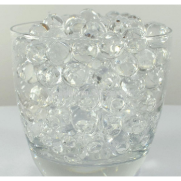 Flat Glass Beads Glass Gems For Vase Decoration