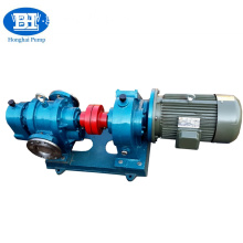 Heat preservation rotary lobe bitumen pump