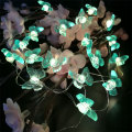 led fairy light with butteryfly