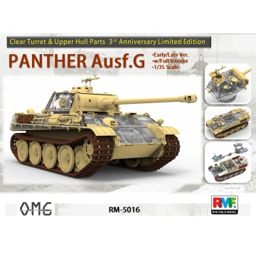 Limited Edition w/Fully Interior[Rye Field Model] Ryefield Model RFM RM-5016 1:35 Panther Ausf.G