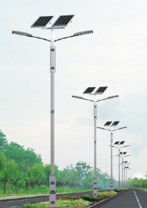 Integrated Solar road light