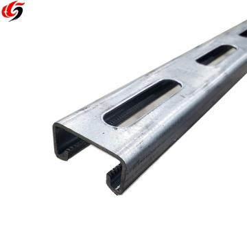 Slotted channel galvanized type