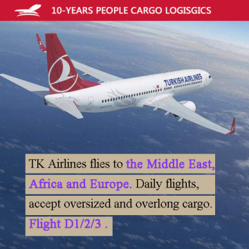 Middle East Air shipping fast Route the best air rate of TK airline
