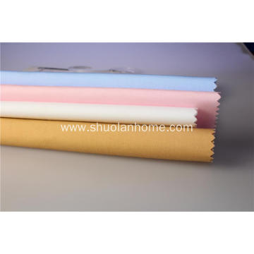 Good quality customized color cotton shirt fabric