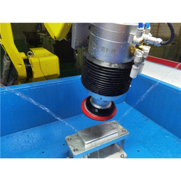 Metal Auto parts processing modular grinding station