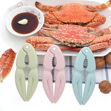 Almond Walnut Pecan Hazelnut Hazel Filbert Nut Kitchen Nutcracker Crab Claw Clip Tool Clamp Plier Cracker 3Colors Kitchen Gadget