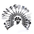 heat resistant premium stainless steel kitchen utensil set