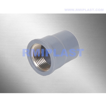 PVC Copper Threaded Coupling BSPT