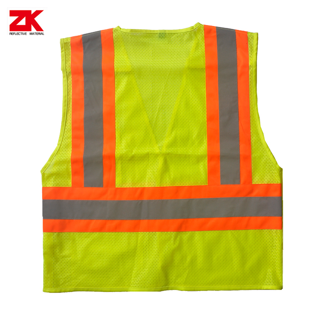 Separatable multi-pockets reflective security jacket