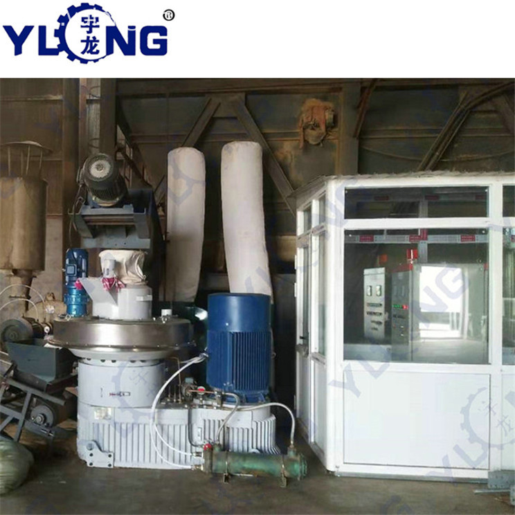 Yulong support wood pellet machine