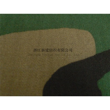 N/C Woodland Camouflage Fabric for the Middle East