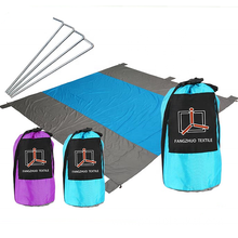 nylon pocket compact sand proof beach blanket