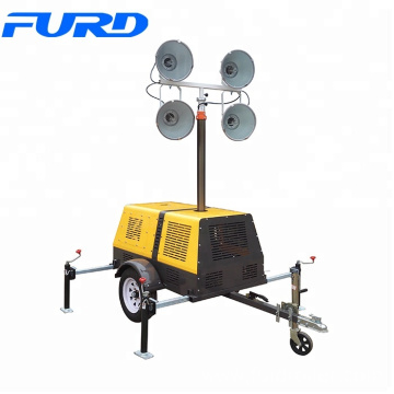 Portable Construction Lights Tower Used Diesel Generator (FZMT-1000B)