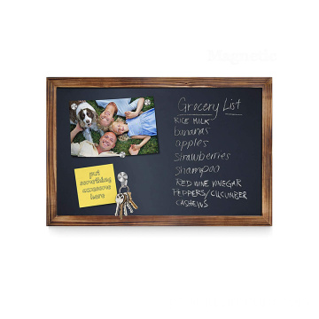 Blackboard menu foldable chalkboard portable high quality