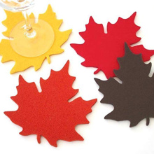 Maple leaf pattern Decorative Coaster