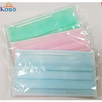 Disposable Face Masks Single Ply Paper Mouth Mask