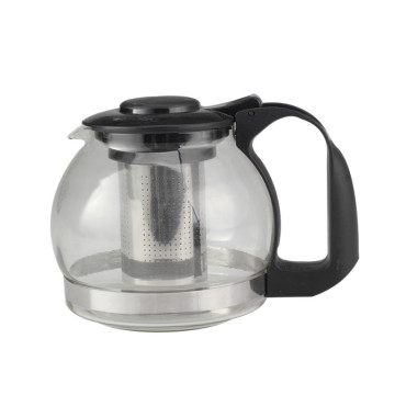 Household Glass Tea Pot With Stainless Steel Filter