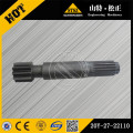 Komatsu PC200-6 final drive shaft 20Y-27-22110