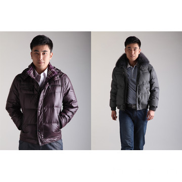Men'S Short Down Jacket Thin And Light Winter