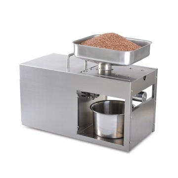 LTP208 Automatic Coconut Olive Oil Press Machine Household peanut FLaxseed Oil Extractor Peanut Cold Hot Oil Press 1500W