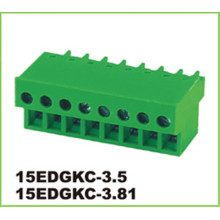 PA66 Pitch 3.81mm PCB Pluggable Connector Terminal Blocks