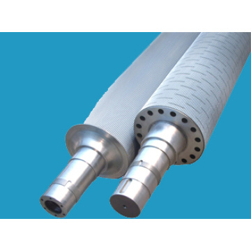 Chrome Plated သို့မဟုတ် Tungsten Carbide Corrugated Roll
