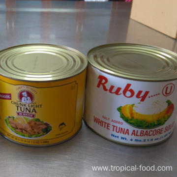 Canned Albacore Tuna Solid in Brine