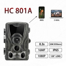 HC-801A Hunting Trail Camera 0.3s Trigger Time With Night Version Photo Traps1 6MP 1080P IP65 Wildlife Hunter Camera fotopast